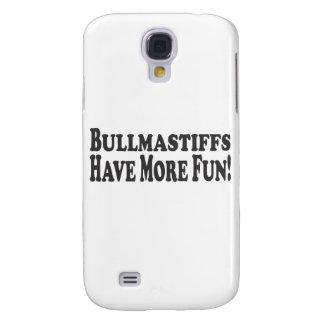 Bullmastiffs Have More Fun! Add your own photo Samsung Galaxy S4 Case