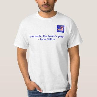 "Bulloch Tea Party Tee, ""Necessity Shirt"