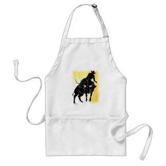 Bullrider 301 adult apron