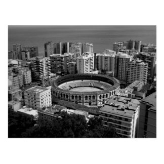 Bullring in Malaga, Spain Postcard