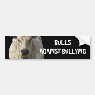 Bulls Against Bullying #11 of 14 Different Car Bumper Sticker