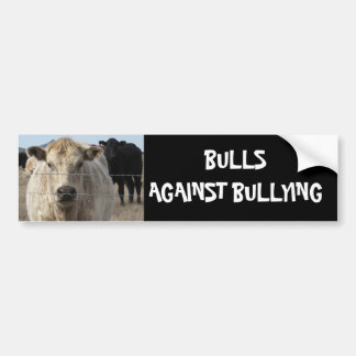 Bulls Against Bullying #12 of 14 Different Bumper Stickers