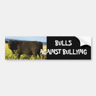 Bulls Against Bullying #13 of 14 Different Car Bumper Sticker
