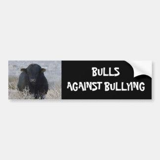 Bulls Against Bullying #14 of 14 Different Car Bumper Sticker