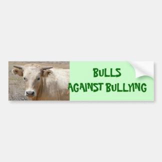 Bulls Against Bullying #1 of 14 Different Car Bumper Sticker