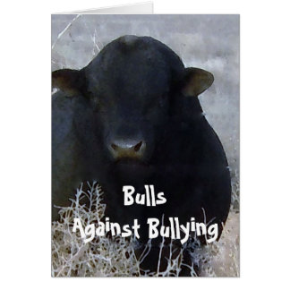 Bulls Against Bullying #1 of 7 Different Card