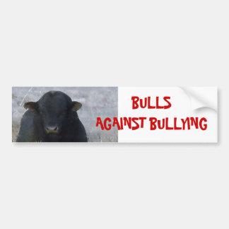 Bulls Against Bullying #2 of 14 Different Car Bumper Sticker