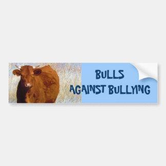 Bulls Against Bullying #3 of 14 Different Car Bumper Sticker