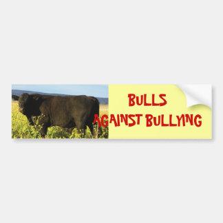 Bulls Against Bullying #6 of 14 Different Car Bumper Sticker