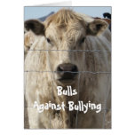 Bulls Against Bullying #6 of 7 Different Cards