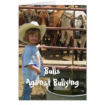 Bulls Against Bullying #7 of 7 Different Card