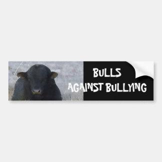 Bulls Against Bullying #9 of 14 Different Car Bumper Sticker