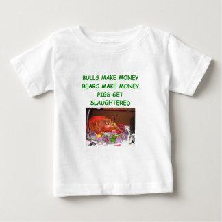bulls and bears baby T-Shirt