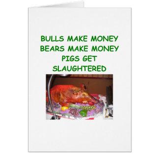 bulls and bears card