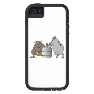Bulls And Keg iPhone 5 Cases