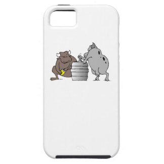 Bulls And Keg iPhone 5 Covers