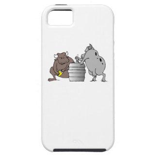 Bulls And Keg iPhone 5 Case