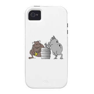 Bulls And Keg iPhone 4/4S Cases