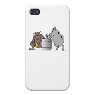 Bulls And Keg Cases For iPhone 4