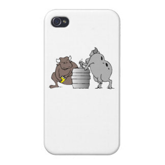 Bulls And Keg iPhone 4 Cases