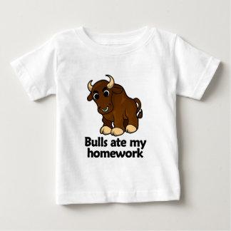 Bulls ate my homework baby T-Shirt