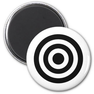Bull's_Eye 2 Inch Round Magnet