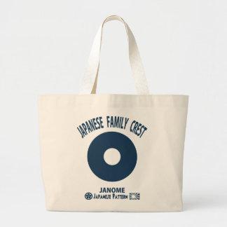 Bull's eye tote bags