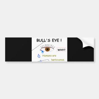 Bull's Eye Bumper Sticker