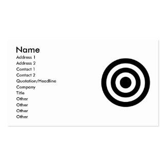 Bull's_Eye Business Card