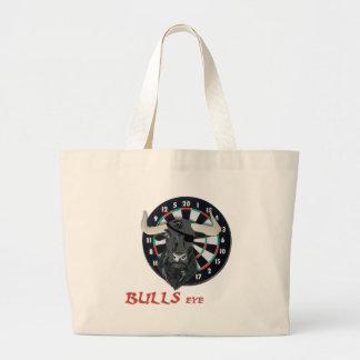 Bulls Eye Jumbo Tote Bag