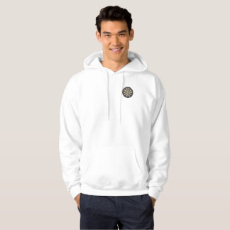 Bulls Eye On A Dartboard, Hoodie