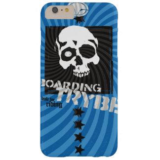 Bulls Eye Skull Skateboarding Graphic Barely There iPhone 6 Plus Case