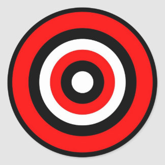 BULLS EYE Sticker