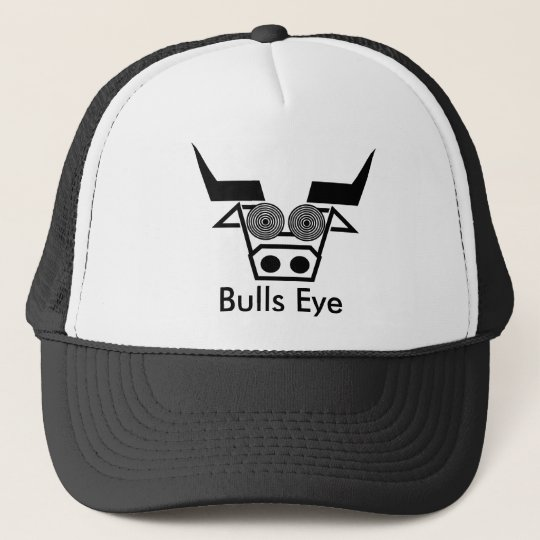 Bulls Eye Trucker Hat