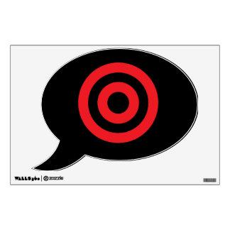 Bulls Eye Wall Sticker