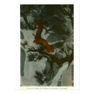 Bull's Folk of the Woods Postcards