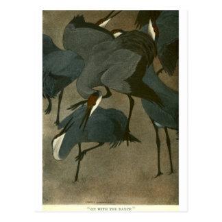 Bull's Folk of the Woods Post Cards