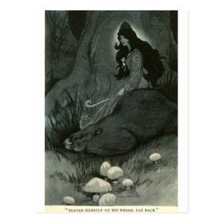Bull's Folk of the Woods Postcard