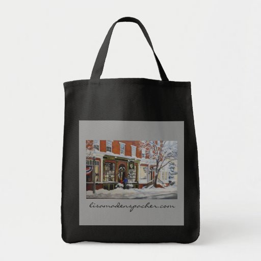 Bulls Head and General Sutter Grocery Bag