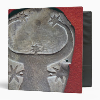 Bull's head palette binder