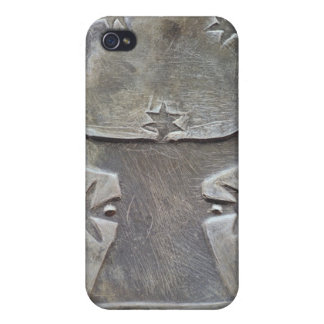 Bull's head palette cover for iPhone 4