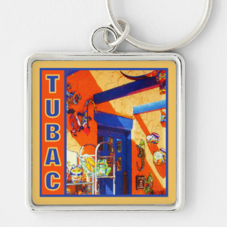 Bull's Head, Tubac, AZ keychain