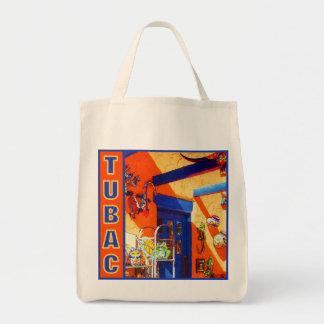 Bull's Head, Tubac, AZ  organic tote bag