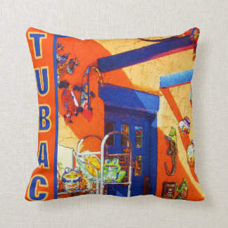 Bull's Head, Tubac Pillow