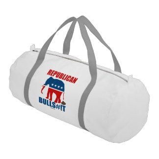 Bulls__t republicano bolsa de deporte