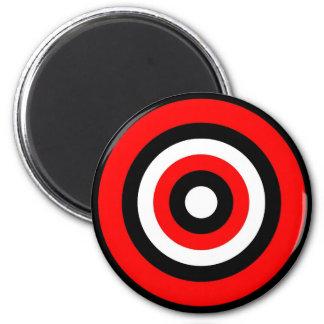 Bullseye 2 Inch Round Magnet