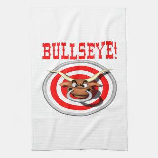 Bullseye 3 hand towel
