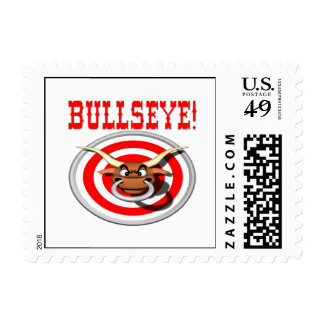 Bullseye 3 postage stamp
