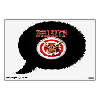 Bullseye 3 wall graphic