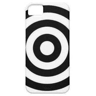 Bullseye Black & White iPhone Case iPhone 5 Cover